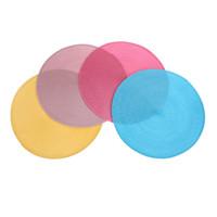 a59e7e91c Nova Rodada Weave Placemat Moda PP esteira de tabela de Jantar Pads de  Discos Tigela Pad Coasters Não-Deslizamento À Prova D  Água Decoração de  Mesa 38   38 ...
