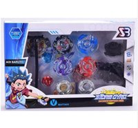 Wholesale beyblade metal fusion arena - Beyblade Metal Fusion Set 4pcs Beyblades With Launchers Beyblade Arena Constellation Spinning