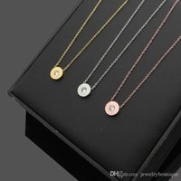 Wholesale ps designs - New arrival Special design T and round shape with Cubic Zirconia Diamond Stone Pendant Necklaces in cm For Women necklace jewelry gifts PS