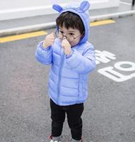 Neonato invernale bambini imbottitura in cotone nuovo inverno abbigliamento  infantile leggero cotone cappotto ragazzi e ragazze Vendita all ingrosso f202976d9a7