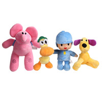 Wholesale yoyo for kids resale online - Pocoyo Series Plush Toys Yoyo Pato Loula Stuffed Animals Doll Classic Baby Kids Soft Cute Gift For Boys And Girls wb YY