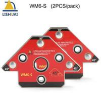 neodym-magneten großhandel-Zwei Stück / Pack Arrow Magnetic Schweißhalter Neodym Magnet Schweißzange Small Size WM6-S