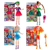 muñecas que hablan al por mayor-Muñeca rusa 30 cm pvc patrulla de hadas princesa figura de anime muñeca de moda niñas juguetes para niños