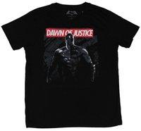moda do amanhecer venda por atacado-vs Mens T-Shirt-Dawn of Justice Metade Metade Dos Homens 2018 Marca de moda T Shirt O Pescoço 100% algodão