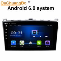 Wholesale Mazda Car Gps - Ouchuangbo car audio 1080 video touch screen android 6.0 system for Mazda 6 2008-2012 with gps navi BT SWC AUX USB mirror link