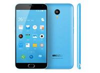 cep telefonu android notları toptan satış-Unlocked Orijinal Meizu Meilan Not 2 Cep Telefonu MTK MT6753 Octa Çekirdek 2 GB RAM 16 GB ROM Android 5.5 inç 13.0MP Parmak Izi Akıllı Cep Telefonu