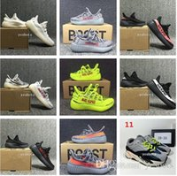 Wholesale girls grey tops - 2018 TOP Baby Kids Run Shoes Kanye West SPLY 350 Running Shoes V2 Children Athletic Shoes Boys Girls Beluga 2.0 Sneakers Black Red