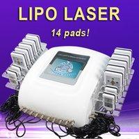 yüz sıkma lazer tedavisi toptan satış-Lipo lazer yüz vücut tedavisi lipo lazer taşınabilir makine kilo kaybı cilt sıkma lipolaser lipo lazer makinesi
