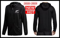 Wholesale waterproofing clothing wash online - All Blacks Black Hoodie New Zealand Super Rugby Jerseys All Blacks jersey Casual clothes Jacket s xl