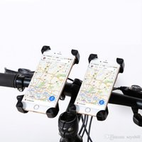 Wholesale iphone 5s bike case online - JEREFISH Bicycle Accessories Handlebar Clip Mount Bracket Mobile Phone Bike Holder Stand for iPhone s s plus Samsung Case
