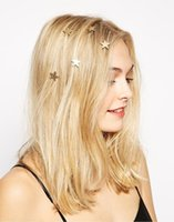 ingrosso le stelle dei capelli-Star Pearl Rotating Screw Hairpin Flower Taro Head Hairpin Hairpin Europe and America Accessori per capelli all'ingrosso