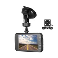 Wholesale high performance microphone resale online - 4 quot high performance car DVR P full HD car digital recorder night vision vehicle driving camcorder Ch G sensor parking monitor