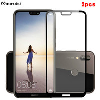 Wholesale 2pcs For Tempered Glass Huawei P20 Lite Screen Protector For Huawei P20 Lite Screen Protector Glass P20 Lite Full Cover Glass