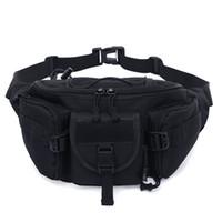 ingrosso sacchetto di pesca libero-Free Knight 1L Molle Bag Impermeabile Vita Marsupio Escursionismo Pesca Sport Caccia Borse Vita Camping Sport Bag Belt