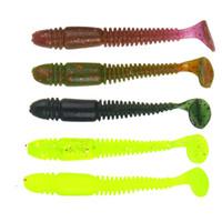 ingrosso andato a pescare-Nuovo modello Soft Worm Bait Soft Baits Outdoors Go Fishing Lure Fake Pesca Fish Pesca Gear Personalizzazione 0 48xl ii