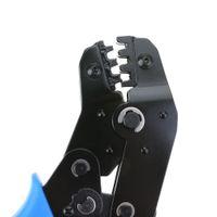 alicate de crimpagem terminal venda por atacado-Alicates terminais da braçadeira da ferramenta de friso do fio Não-Isolados 2,8 4,8 6,3 26-16AWG ferramenta de corte do metal dos alicates de friso do cabo