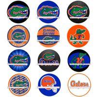 florida schmuck großhandel-50 stücke MIX 18 MM Sport Fans Florida Gators Druckknopf Charme Mode Fit Für DIY BraceletNecklace Schmuck