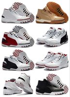 Wholesale new generation sports - 2018 New Air 1 1st Zoom James Generation Game Mens Basketball Shoes Shoes Limited Edition Sale Online 1 Sport Sneaker High Quality