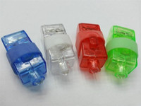 oyuncak piller açtı toptan satış-LED Parmak Işık Pil Işletilen Işıklar 4 Renkler Çocuk Günü Için Çocuk Doğum Günü Oyuncaklar Hediyeler Lambaları 0 2 ms ff