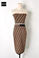 Wholesale pencil skirt knit - 2018 New Runway Design Casual Dress Letter Top + Pencil Skirt Suit Knit Bodycon Vestidos Two Piece Women's Set Summer Dresses