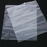 sacolas plásticas para cama venda por atacado-Sacos de empacotamento do fundamento plástico da cobertura do descanso da edredão do saco do zíper do PVC claro com respiradouro de ar 45X60cm QW7252