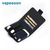 Wholesale E Cigarette Storage - Vapesoon Leather Storage Bag Anti Scratch Cover for IQOS Box MOD E Cigarette Protector Carrying Pouch Bag