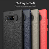 Wholesale soft focus - high quality ultra thin Lichee Pattern soft TPU case auto Auto Focus Silicone cellphone back cover mobile protector for iphone x samsung s8