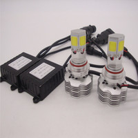 led-scheinwerfer umbausatz h4 großhandel-H11 H1 H4 H7 H13 9005 9006 9007 480W 480000LM 4-seitige LED-SCHEINWERFER-KONVERTIERUNGSSET 6000K HIGH POWER LIGHT BEAM