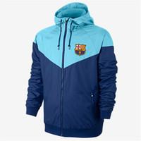 Wholesale clothe online - New Designer Jacket Coat Autumn Brand Windrunner Windbreaker Jacket Mens Hoodie Sportswear Soccer Team Pattern Fashion Zipper Clothing
