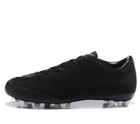 Wholesale Victory Boots - New CR7 Boots Mercurial Victory V AG men Football 2017 Shoes High Quality cheap Soccer Cleats Blue Black Hot Size 39-45s