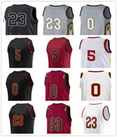 Wholesale Mens Style Cheap - Mens Youth 2018 city new style All star Basketball Jerseys 23 LeBron jersey 0 LOVE 5 JR SMITH sewing Cheap high quality