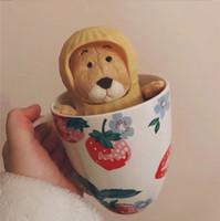boneca de amendoim venda por atacado-Japonês Popular Net Red Amendoim Rato Shell Pequena Boneca Bonito Bonito Foto Câmera Objeto Decoração Do Escritório