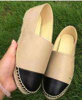 zapatos de tela de dama al por mayor-2018 Nuevas mujeres zapatos de lona casuales Alpargatas de primavera mujer zapatos de tela de alta calidad Zapatos para caminar de moda Dos tonos de lona zapatillas de lona