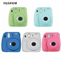 Wholesale Photo Cameras - Fujifilm Instax Mini 9 Instant Printing Digital Camera With 20 Sheets Fuji Film Photo Paper for Mini 8 7s 25 50s 90