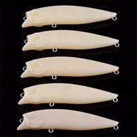 Wholesale unpainted fishing lures wholesale - Popper Blank Fish Body Unpainted Fishing lure 9.6g 9cm 6.5g 7.5cm 9.6g 8.5cm DIY Painted Plastic baits