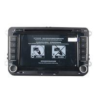 bmw e39 dvd gps bluetooth venda por atacado-7 Polegadas 2 Din Car DVD Player de Navegação GPS Estéreo Rádio para Volkswagen VW Golf 6 Touran Passat B7 Sharan Touran Pólo Tiguan