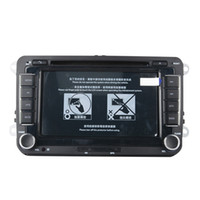 ingrosso radio din vw golf-7 pollici 2 DIN Car DVD GPS Navigation Radio Stereo Player per Volkswagen VW Golf 6 Touran Passat B7 Sharan Touran Polo Tiguan