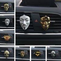 clips de l'homme de fer achat en gros de-30 Designs Parfum de Voiture Air Vent Clip sur Air Désodorisant pour Marvel Iron Man Auto Décor Nouveauté Articles T1I446