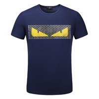 camisa da forma t de alta qualidade venda por atacado-Mens Designer T Camisas Dos Homens T Shirt Dos Homens de Roupas de Verão Ocasional Tripulação Pescoço Modal de Manga Curta de Alta Qualidade Moda Camisa para Homens Tamanho M-3XL