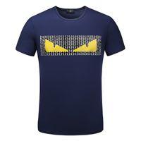 t-shirts modales hommes achat en gros de-Mens Designer T Shirts Hommes T Shirt Hommes Vêtements Été Décontracté Col Modal Manches Courtes De Haute Qualité Mode Chemise pour Hommes Taille M-3XL