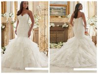 Wholesale More Bra - 2018 European New Slim Fishtail Bra Wedding Dresses Small Trailing Lace Bridal Wedding Dresses  Shop Style Select More Styles
