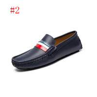 Wholesale wedges size 11 - men dress shoes formal business work soft patent leather pointed toe for man male men's oxford flats LG87-11 size 38-44