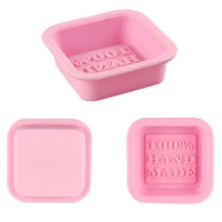 Wholesale handmade molds for sale - Group buy 100 Handmade Soap Molds DIY Square Silicone Moulds Baking Mold Craft Art Making Tool DIY Cake Mold