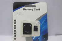 Wholesale memory cards mobile phones - 100 pcs 64GB 128GB 256GB Micro SD SDHC Class10 Memory Card for Mobile Phone   Smartphone