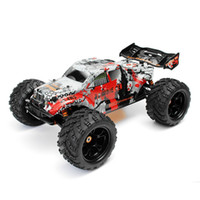Wholesale brushless rc trucks - wholesale Zombie 8E 8384 1 8 100A 4WD Brushless Monster Truck RTR RC Car 70km h With Electronic Parts