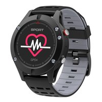Wholesale sports watches altimeter for sale - F5 Smart Watch IP67 Heart Rate Monitor GPS Multi Sport Mode OLED Altimeter Bluetooth Fitness Tracker Android iOS waterproof pc