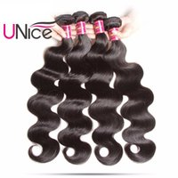 Wholesale bulk for sale - Group buy UNice Hair Malaysian Body Wave Bundles Human Hair Extensions Malaysian Virgin Human Hair Bundles Body Wave Weaves Bulk