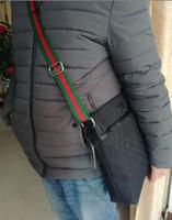 Wholesale mens fashion shoulder bags - Newest Fashion Brand Mens Shoulder bag Classic Canvas Messenger Bags Women's Fashion bag beige black Students Canvas School Bag