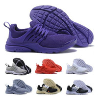 Wholesale womens training top - Top Off Presto Essential Running Shoes Sneakers Mens Womens Triple Purple SE Ultra Acronym BR QS Outdoor Sports Tennis Training Airs Shoe