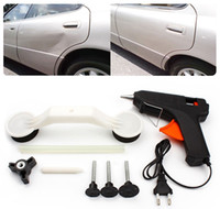 Wholesale abs vehicle - 2017 Hot Sale Auto Pops A Dent Ding Repair Removal Tool Car Care Tools Set Kit for Vehicle Automobile ABS Glue Gun DIY Paint